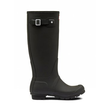 Hunter Boot Women's Original Tall Matte Rainboot Black