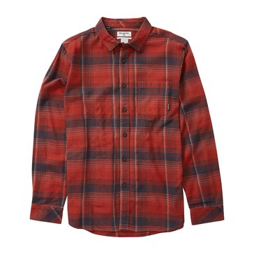 Billabong Men's Coastline Long Sleeve Flannel Shirt