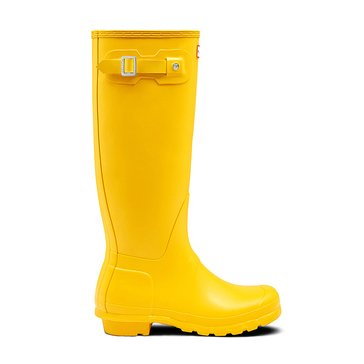Hunter Boot Women's Original Tall Matte Rainboot Yellow