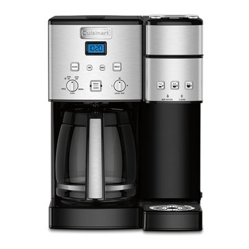 Cuisinart 12-Cup Coffee Maker & Single-Serve Brewer (SS-15)