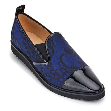 Karl Lagerfeld Cler Women's Slip On Sneaker Navy/Black