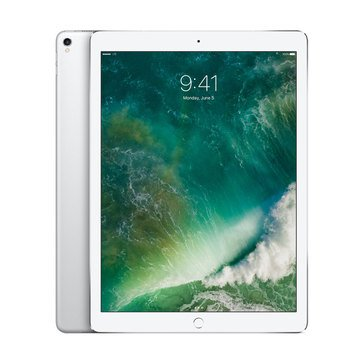 NEW - Apple 12.9-Inch iPad Pro 64GB Wi-Fi + Cellular - Silver MQEE2LL/A