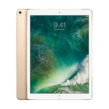 NEW - Apple 12.9-Inch iPad Pro Wi-Fi + Cellular - Gold MQEF2LL/A