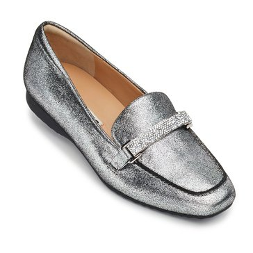 Karl Lagerfeld Quigley Women's Loafer Silver