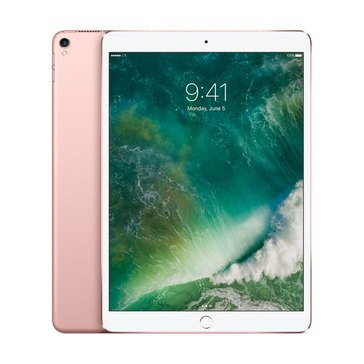 NEW - Apple 10.5-Inch iPad Pro 512GB Wi-Fi + Cellular - Rose Gold MPMH2LL/A I