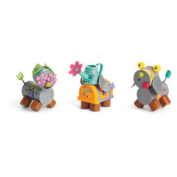 WellieWishers Mix & Match Garden Pets