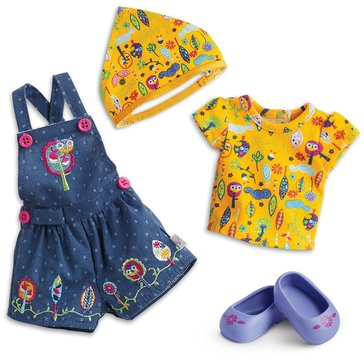WellieWishers Outdoors in Overalls Outfit