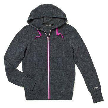 Warrior Women's Contrast Zip Fleece Hoodie