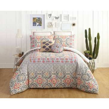 Jessica Simpson Puebla Mini Comforter Set - King