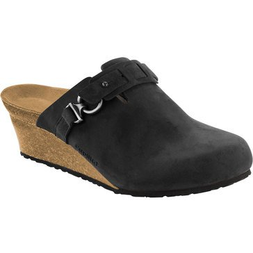 Birkenstock Dana Women's Wedge Clog Black Oiled Leather
