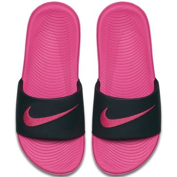 Nike Little Girls Girls Sandal Black/ Vivid Pink