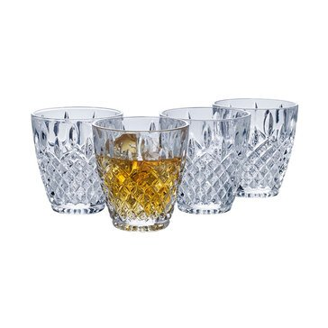 Mikasa Harding Set of 4 Double Old Fashioned Glasses
