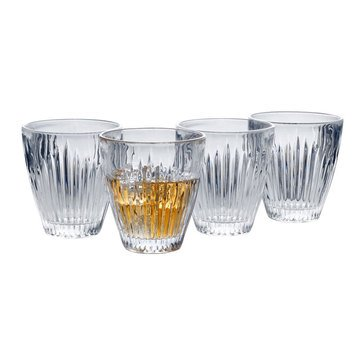 Mikasa Parkside Set of 4 Double Old Fashioned Glasses