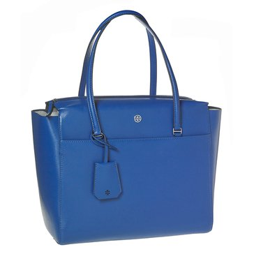 Tory Burch Parker Tote Songbird/Royal Navy