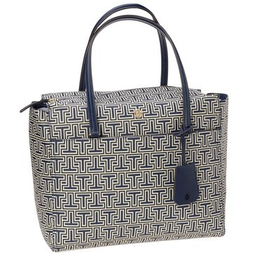Tory Burch Parker Geo T Tote Navy
