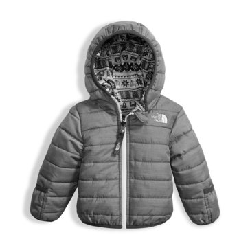 The North Face Baby Boys' Reversible Perrito Jacket, Grey