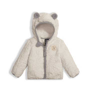 The North Face Baby Boys' Plushee Bear Hoodie, Moonlight Ivory