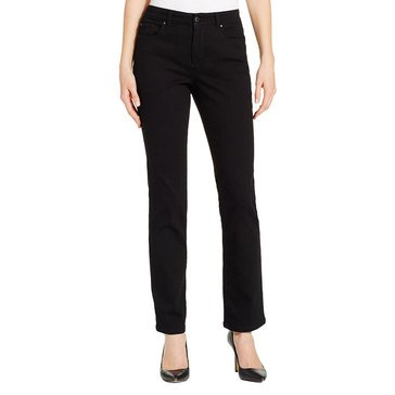 Charter Club Women's Lexington Straight Leg Sateen Jeans