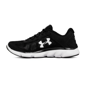 Under Armour Micro G Assert 7 Women's Running Shoe - Black / White