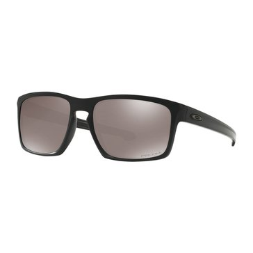 Oakley Men's Sliver Polarized Sunglasses OO9262-4457, Matte Black Prizm Black 60mm