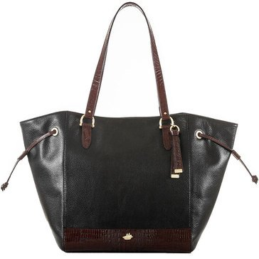 Web Exclusive! Brahmin Cheyenne Tote Black Tuscan Coast
