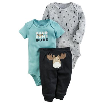Carter's Baby Boys' 3-Piece Turn Me Around Set