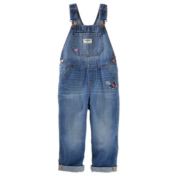 OshKosh Baby Girls' Embroidered Overalls