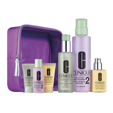 Clinique Great Skin Home and Away 3-Step Set - Skin Types 1 & 2