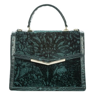 Web Exclusive! Brahmin Gabrielle Satchel Ivy Cellini