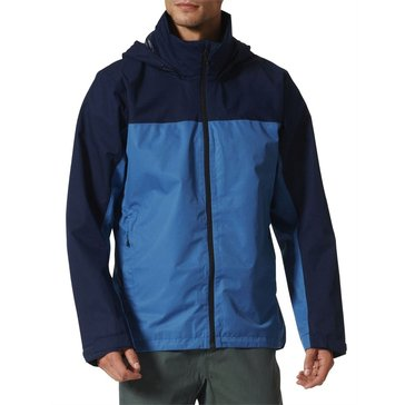 Adidas Men's Wandertag Rain Jacket - Navy