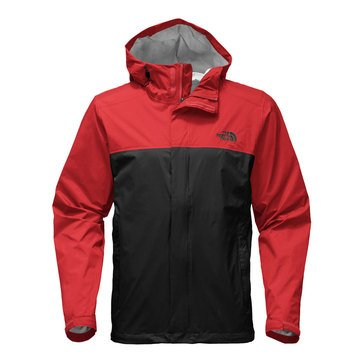 The North Face Men's Venture 2 Jacket - Black/Red