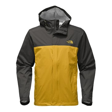 The North Face Men's Venture 2 Jacket - Yellow/Grey