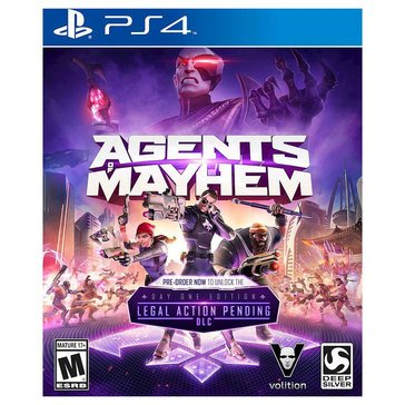 PS4 Agents of Mayhem 8/15/17