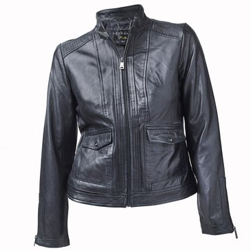 Bernardo Women's Lamb Leather Jacket