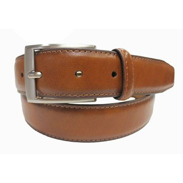 Izod Men's 35MM Burnished Dress Belt - Tan
