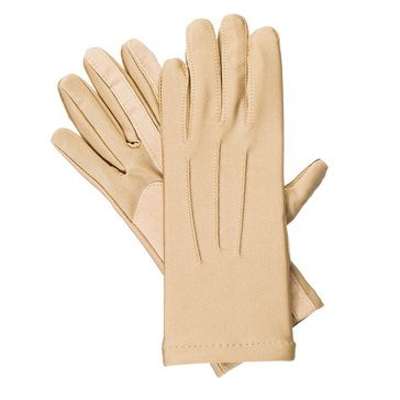 Isotoner Boxed Spandex Driving Glove Fleece Lined Camel