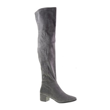 Chinese Laundry Festive Women's Over The Knee Boot Gunmetal