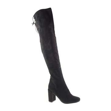 Chinese Laundry Krush Suedette Women's Over The Knee Boot Black