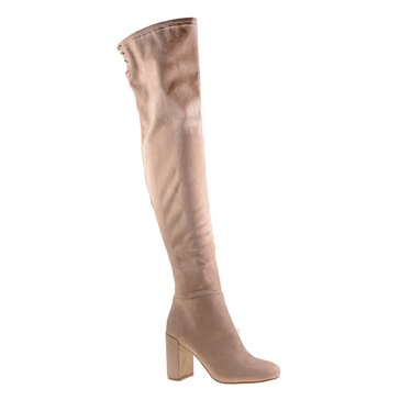 Chinese Laundry Krush Suedette Women's Over The Knee Boot Mink