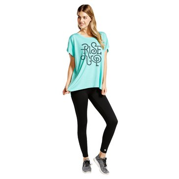MJ Soffe Women's Rise Up USN Perfectly Oversized Tee