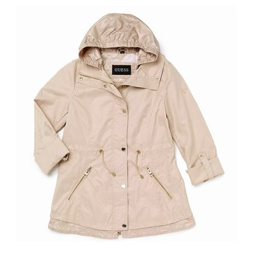 Guess Women's Nylon Anorak Jacket