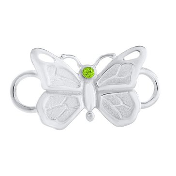 LeStage Convertible Collection Peridot Butterfly Clasp