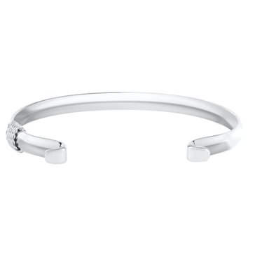 LeStage Convertible Collection Narrow Bracelet With Wrap, 6.5in