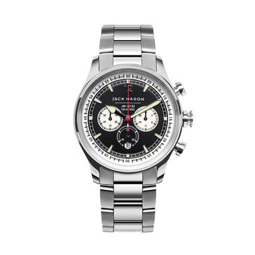 Jack Mason Men's Nautical Stainless Steel Chronograph Watch, 42mm
