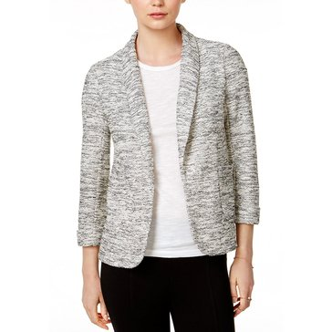 Maison Jules Marled Snit Blazer in Grey Combo