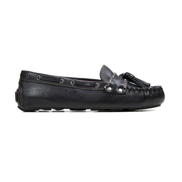 Patricia Nash Domenica Women's Leather Loafer Black