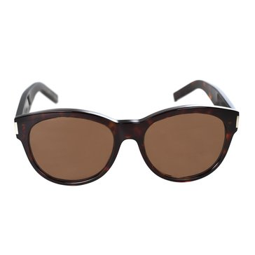 Saint Laurent Women's Sunglasses, Brown 54mm