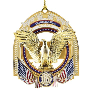 Chemart 2017 Franklin D. Roosevelt White House Ornament