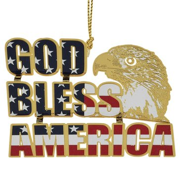 Chemart God Bless America Ornament
