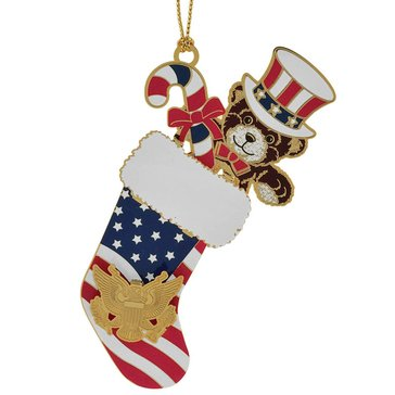 Chemart Patriotic Stocking Ornament